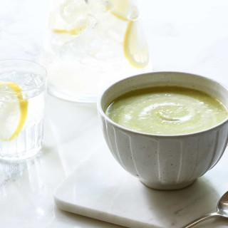 Zucchini and Watercress Soup {Vegan + Gluten-Free}