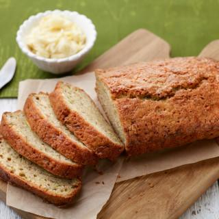 Zucchini Bread with Lemon Honey Butter