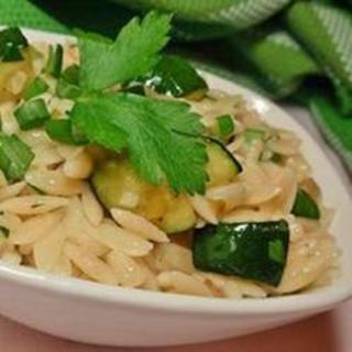 Zucchini Orzo
