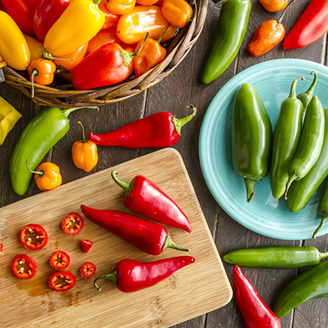 Colorful Capsaicin: How to Make Your Peppers Pop
