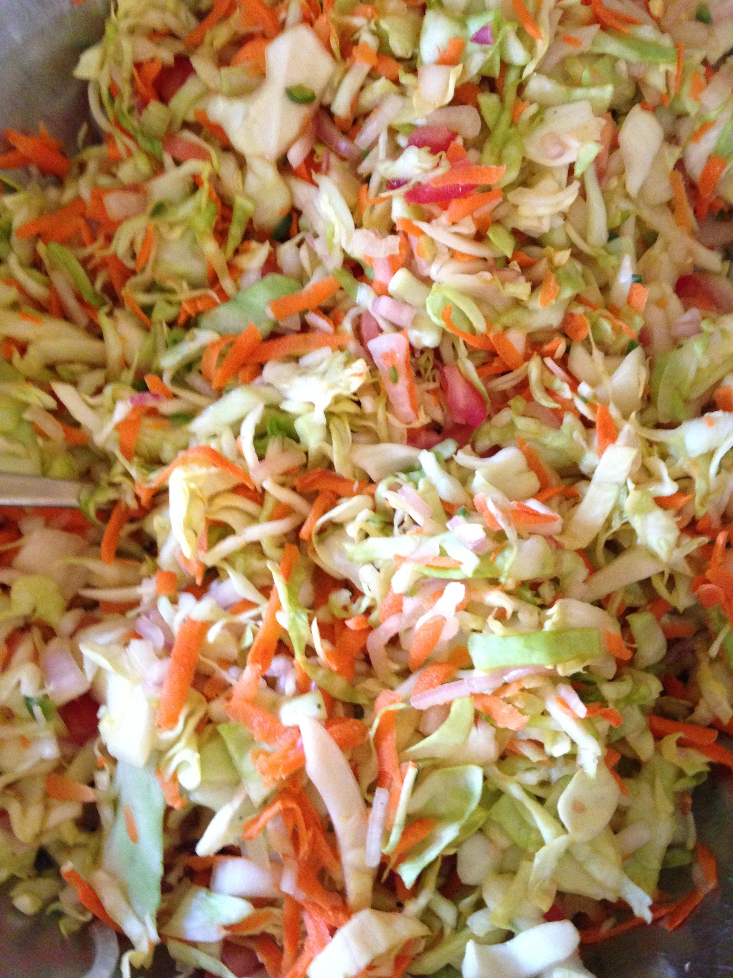 Haitian Spicy Coleslaw (Pickliz) - BigOven