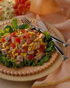 Herbed Pork and Corn Salad - BigOven