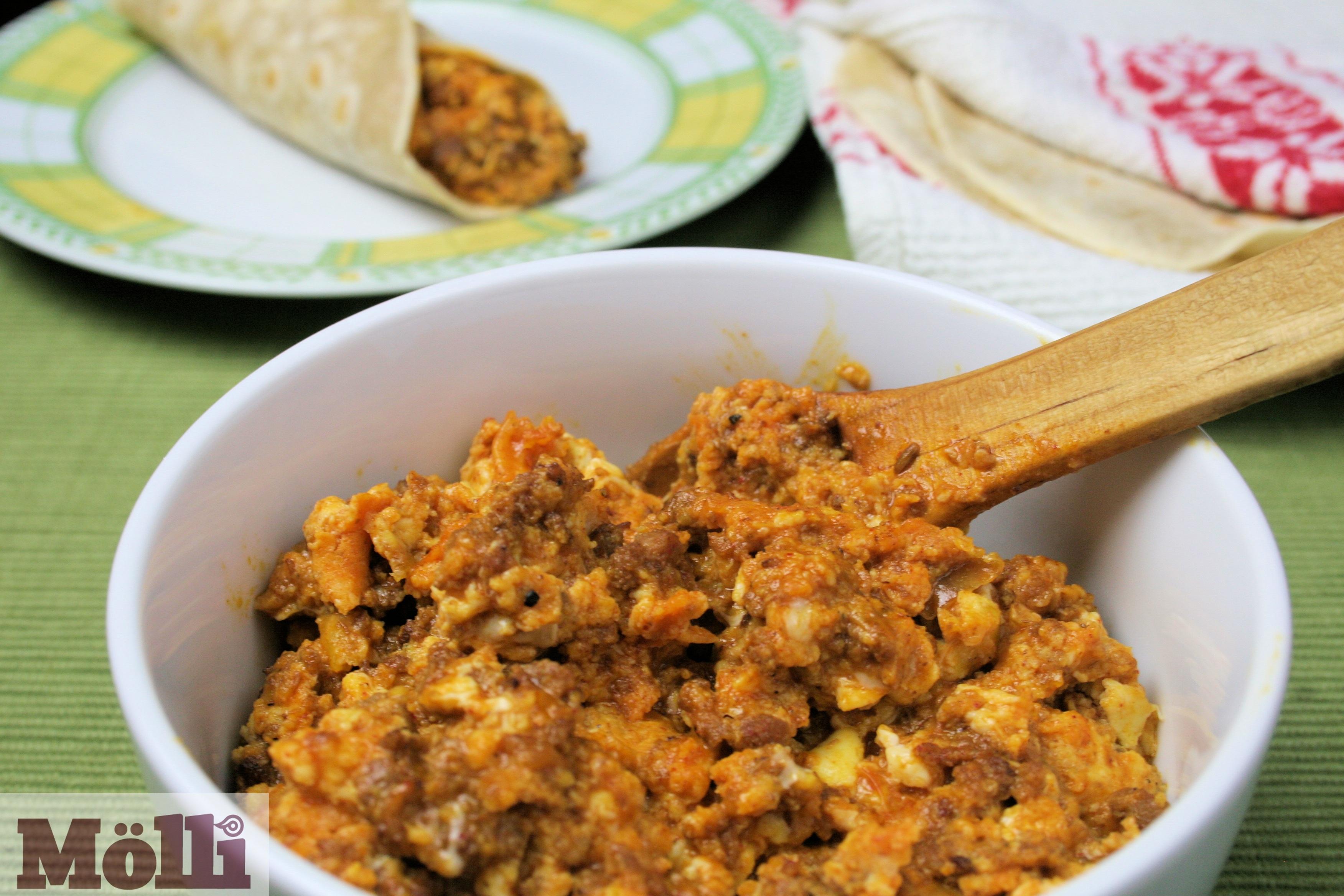 Huevos Rancheros Con Chorizo Huevos con chor...