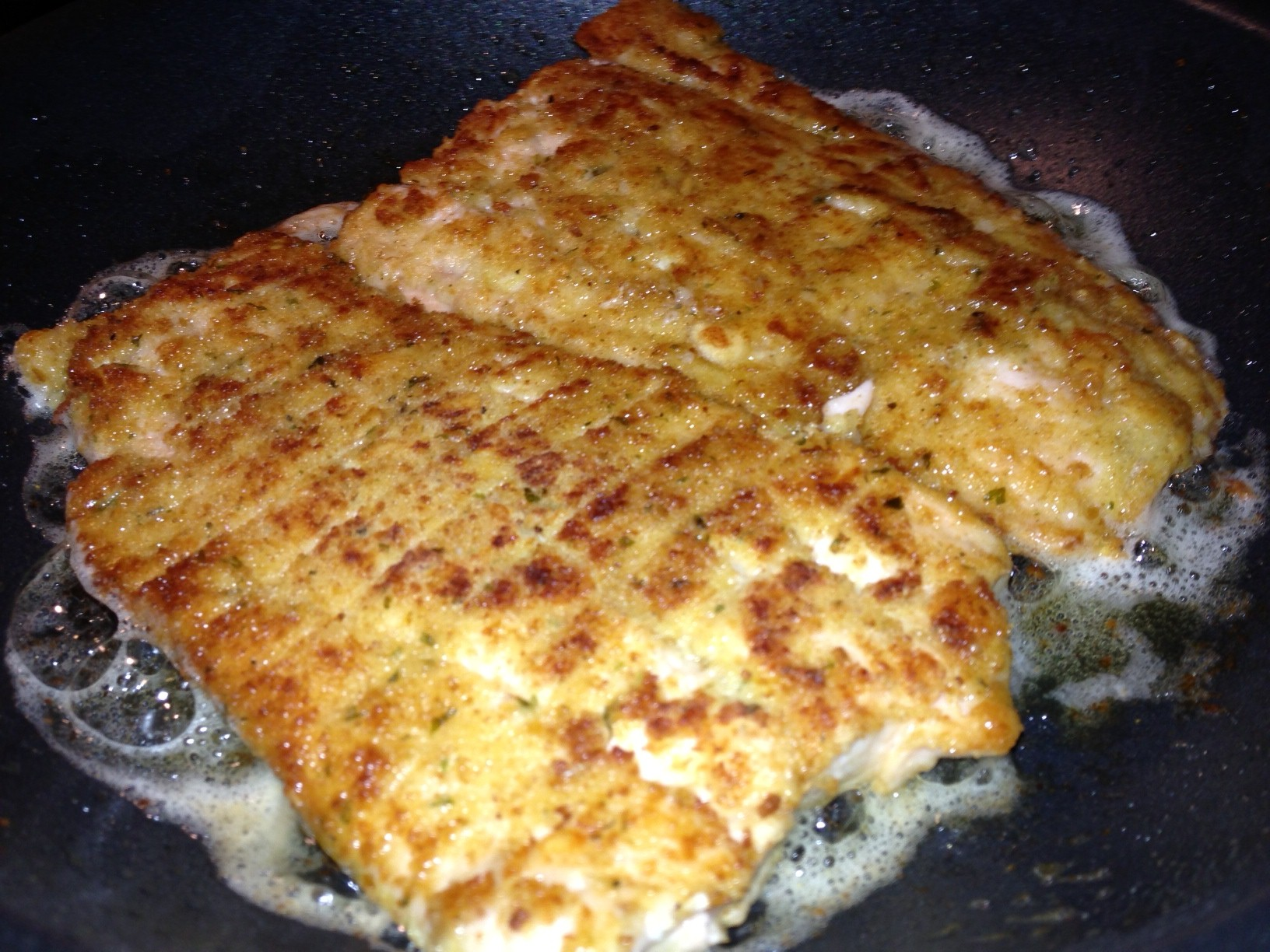 how to make breaded fish