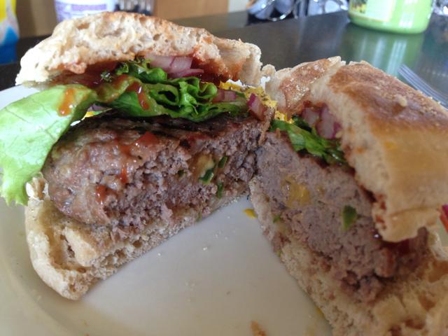 Jalapeno Cheddar Stuffed Burgers - BigOven