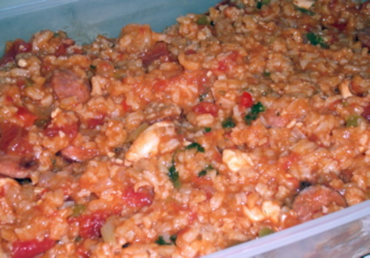 Jambalaya with Shrimp and Andouille Sausage - BigOven