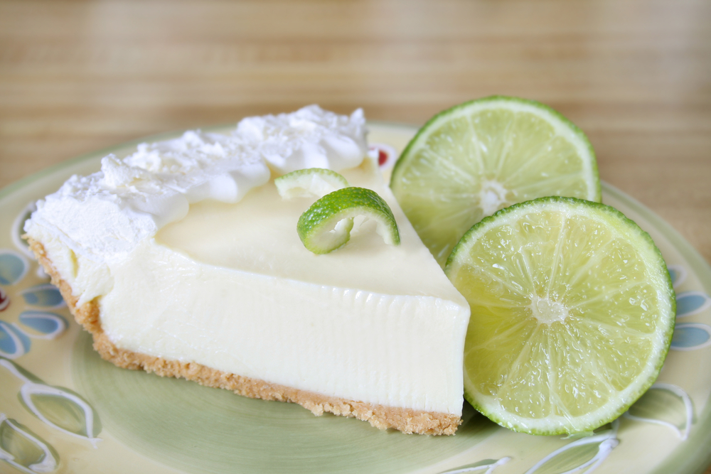 Recipes Course Desserts Pies Key Lime Pie Key Lime Pie (Weight ...