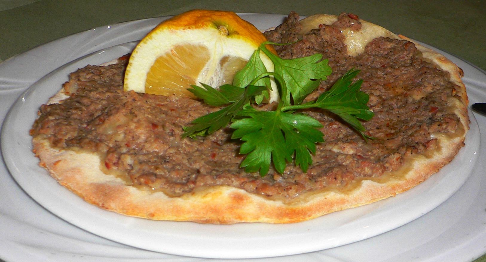 Lahmajoon - Armenian Pizza