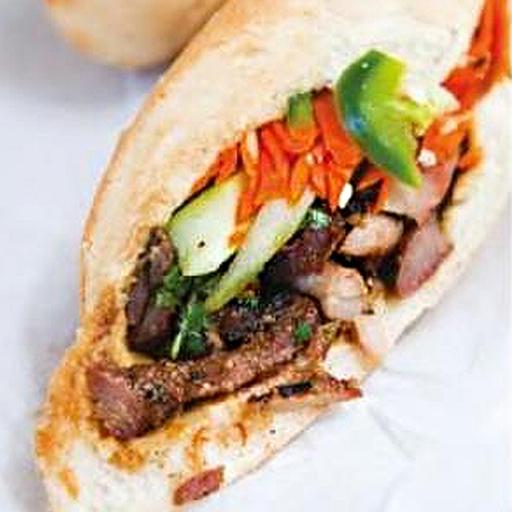 Banh Mi With Lemongrass Pork Recipe — Dishmaps