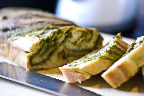 Light Pesto Bread - BigOven