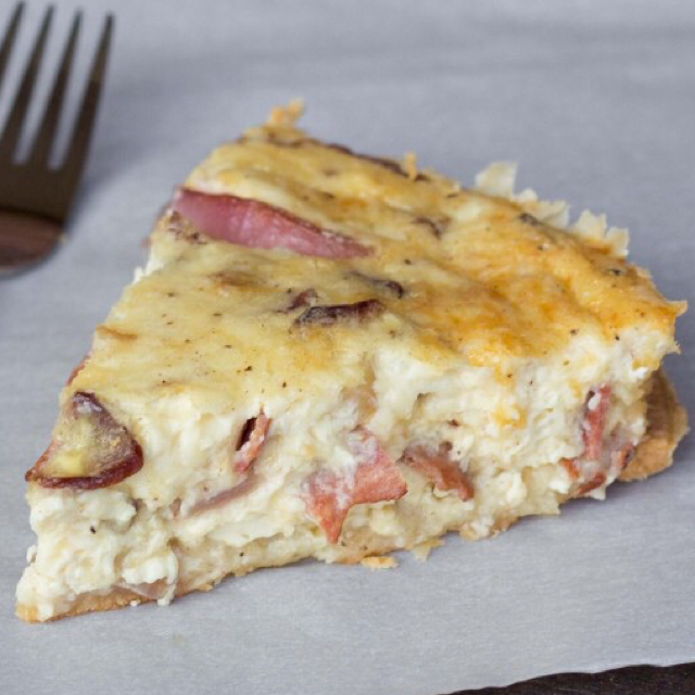 Low Carb Bacon and Swiss Quiche - BigOven
