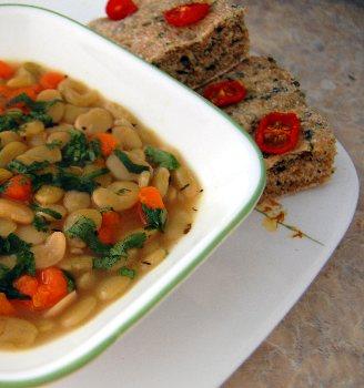 Luscious Lima Bean Soup - BigOven