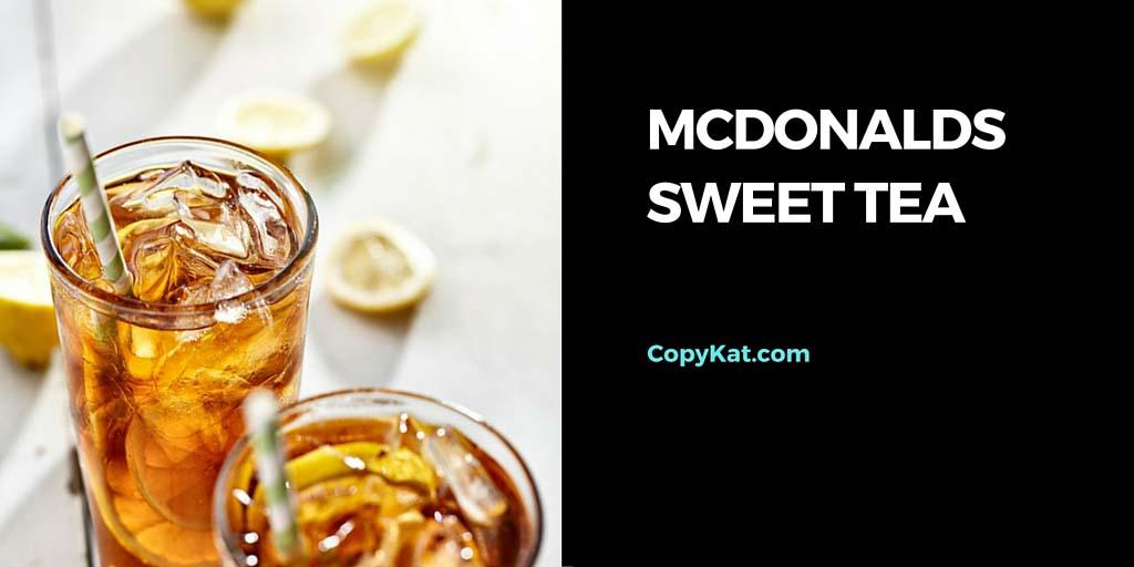 How to make mcdonalds sweet tea at home