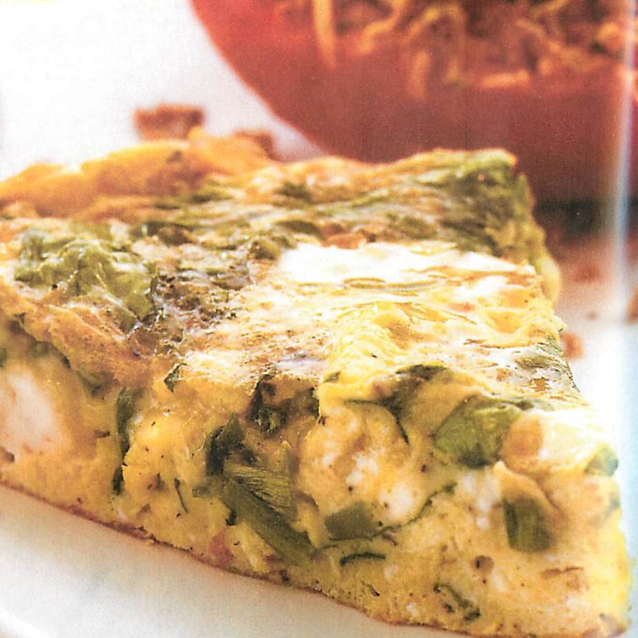 Mediterranean Style Recipes: Mediterranean-Style Frittata