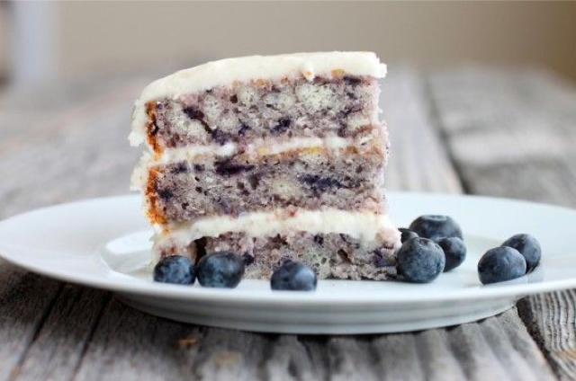 Melt-In-Your-Mouth-Blueberry-Cake - BigOven