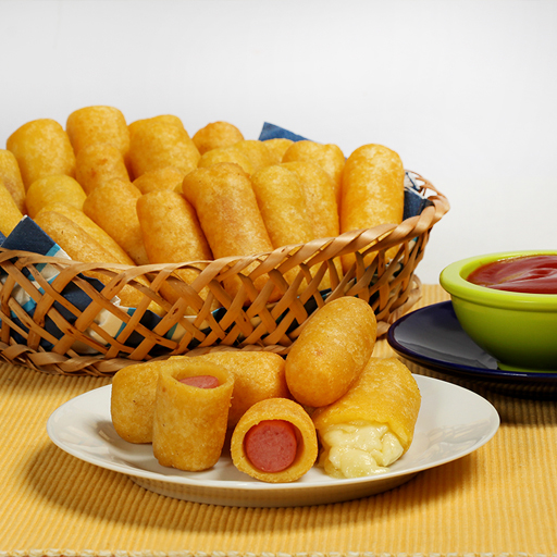 how to make mini corn dogs