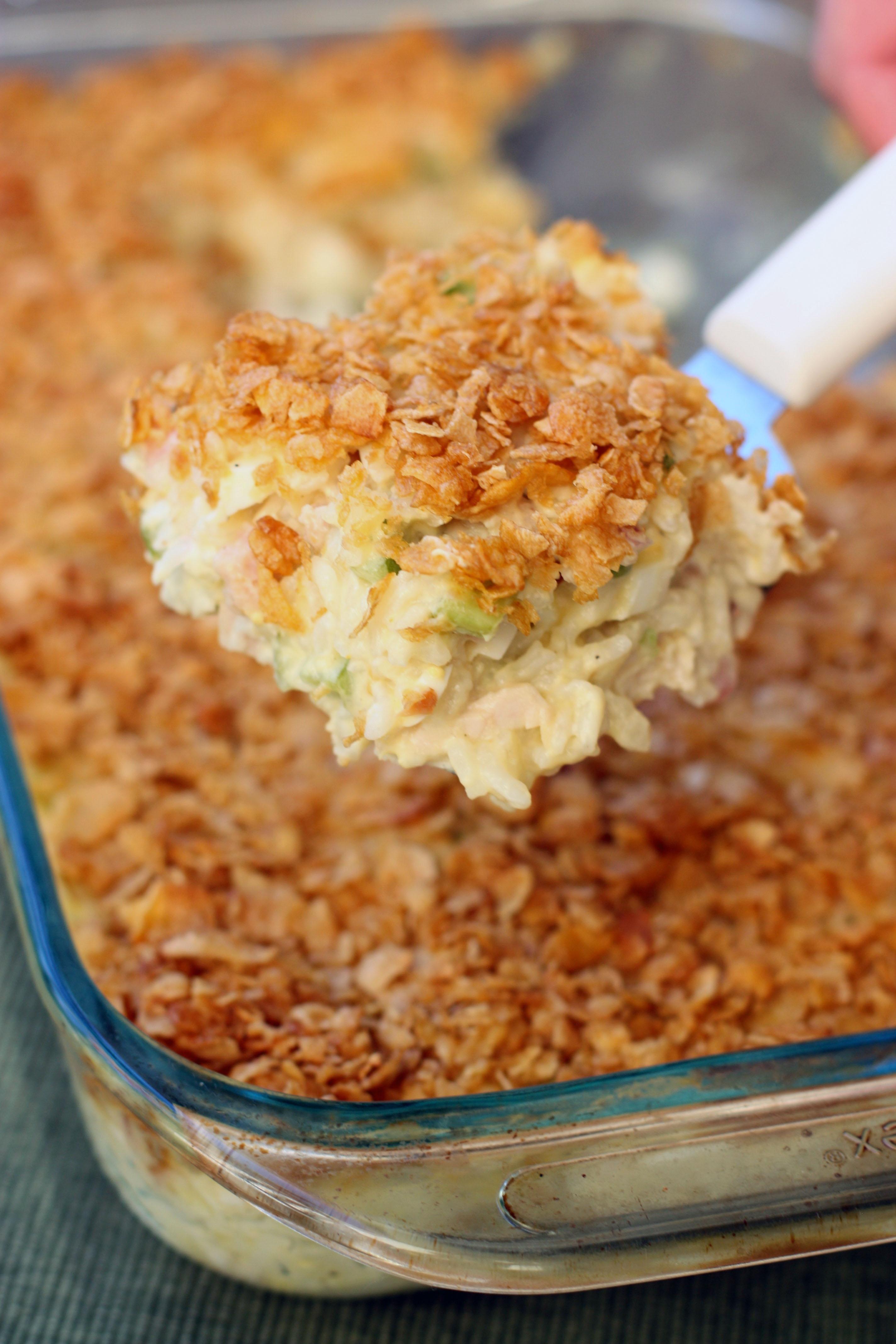 Mom's Crunchy Chicken Casserole - BigOven