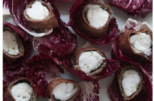 Monkfish wrapped in rosemary lemon and parma ham bigoven for Monkfish and parma ham recipe