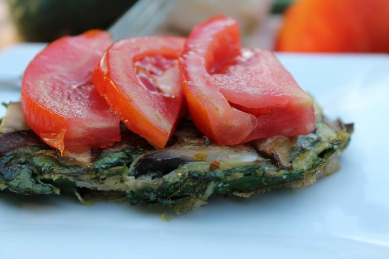 Mushroom & Swiss Chard Frittata Bake - BigOven