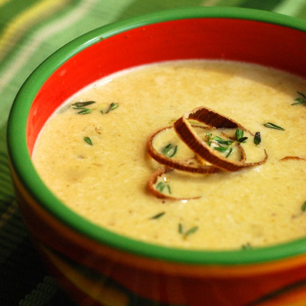 Nibble Me This Artichoke & Spinach Bisque - BigOven