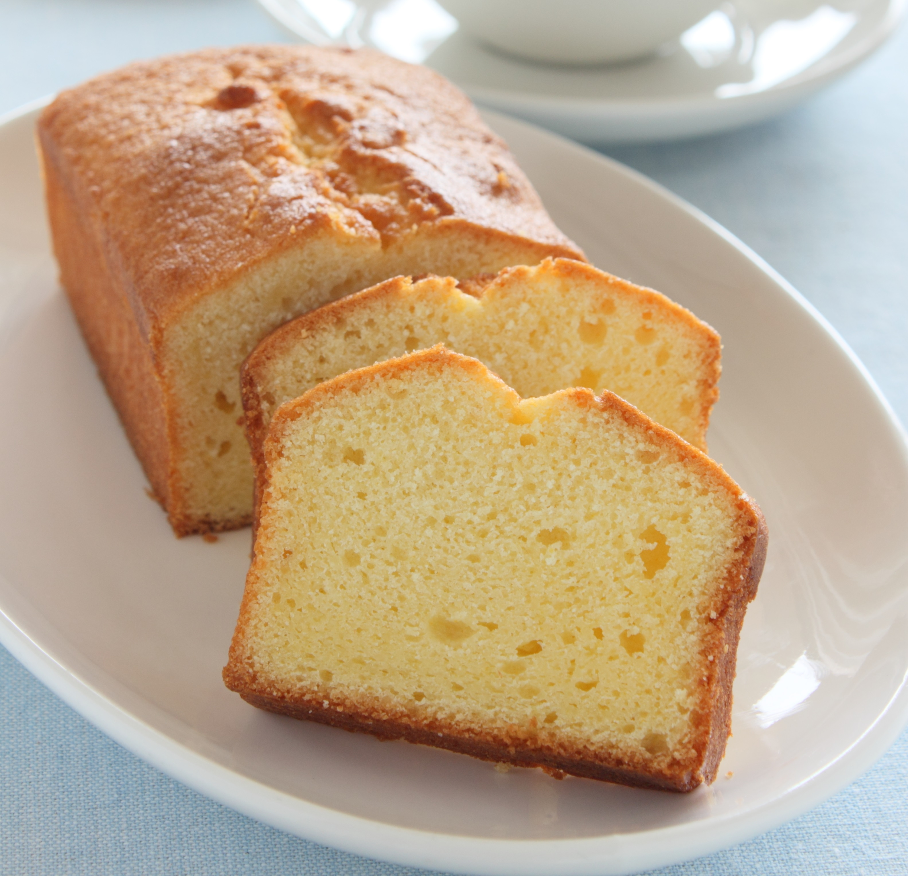Pound Cake With  Sticks Of Butter