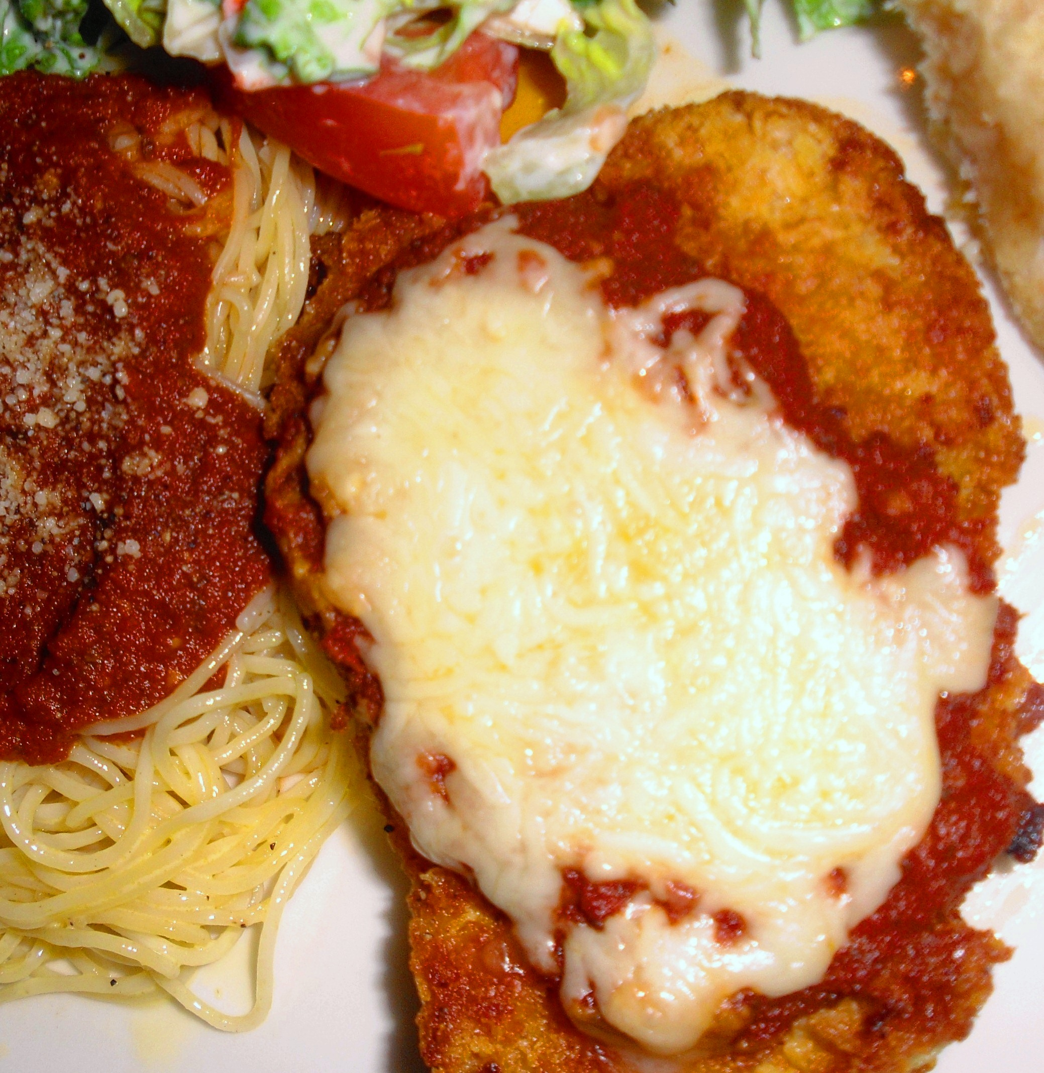 Oven Fried Chicken Parm Bigoven