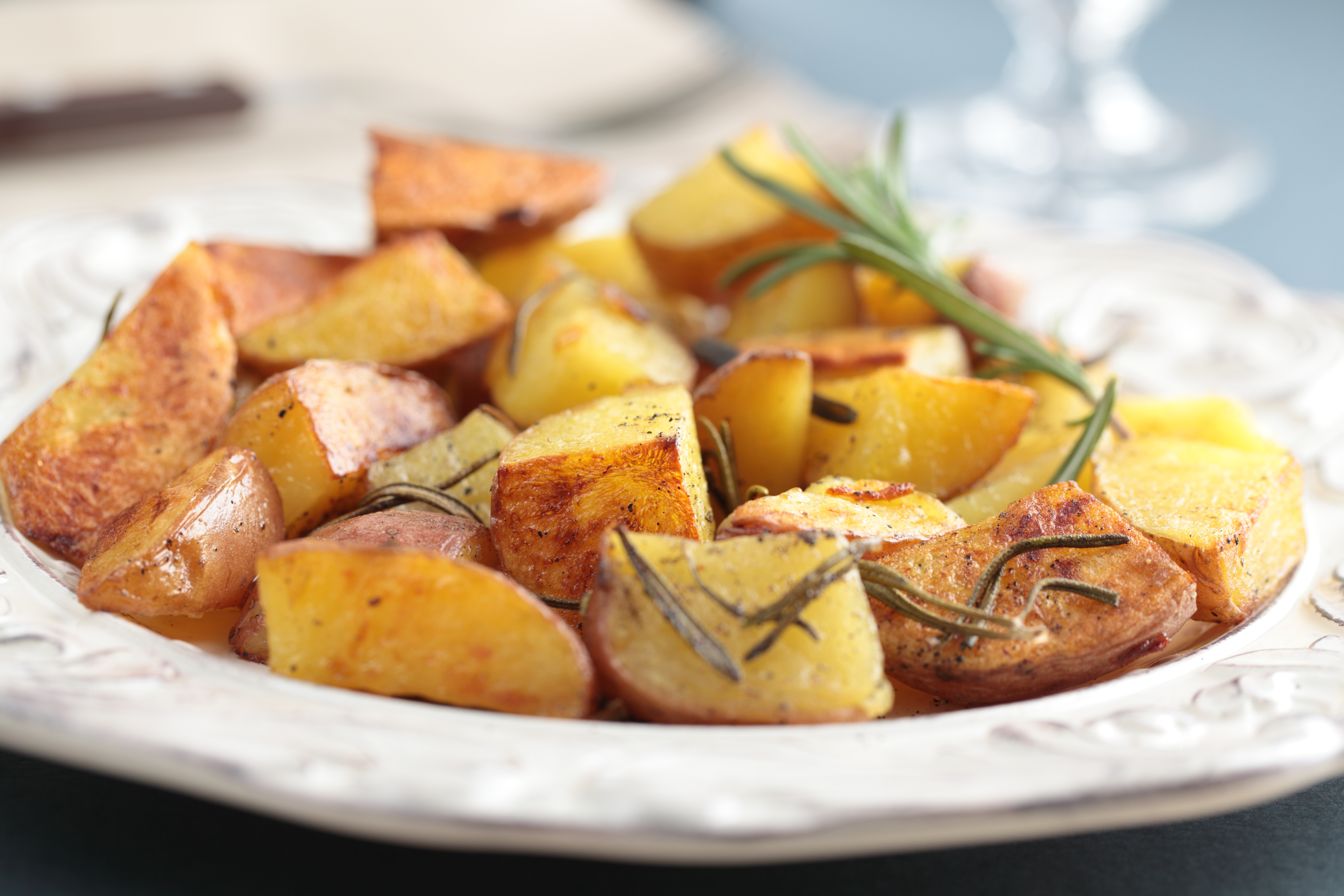 Oven Roasted Red Potatoes with Rosemary and Garlic - BigOven