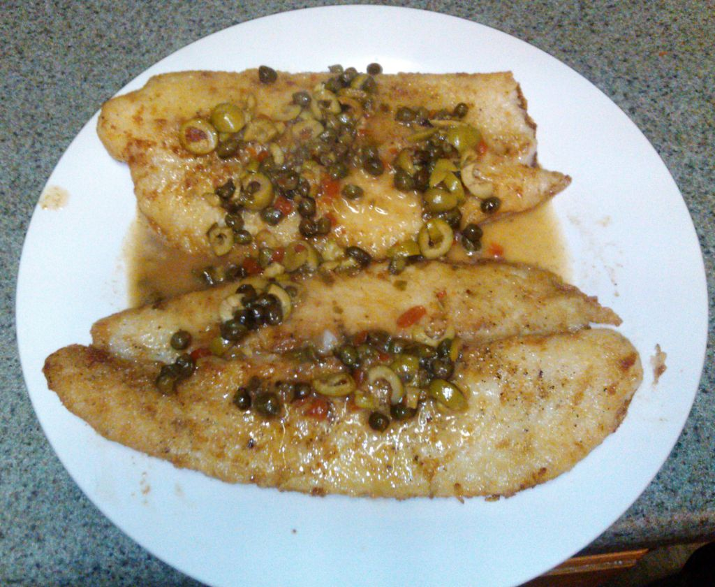 Pan Fried Fish With Lemon and Capers - BigOven