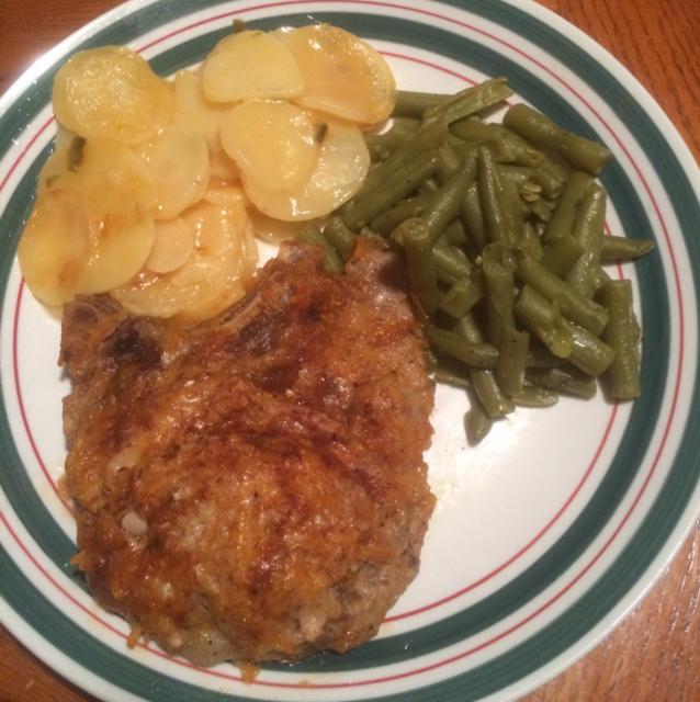 Parmesan-Paprika Pork Chops - BigOven