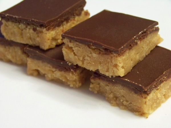 Chocolate Peanut Butter Bars Bigoven