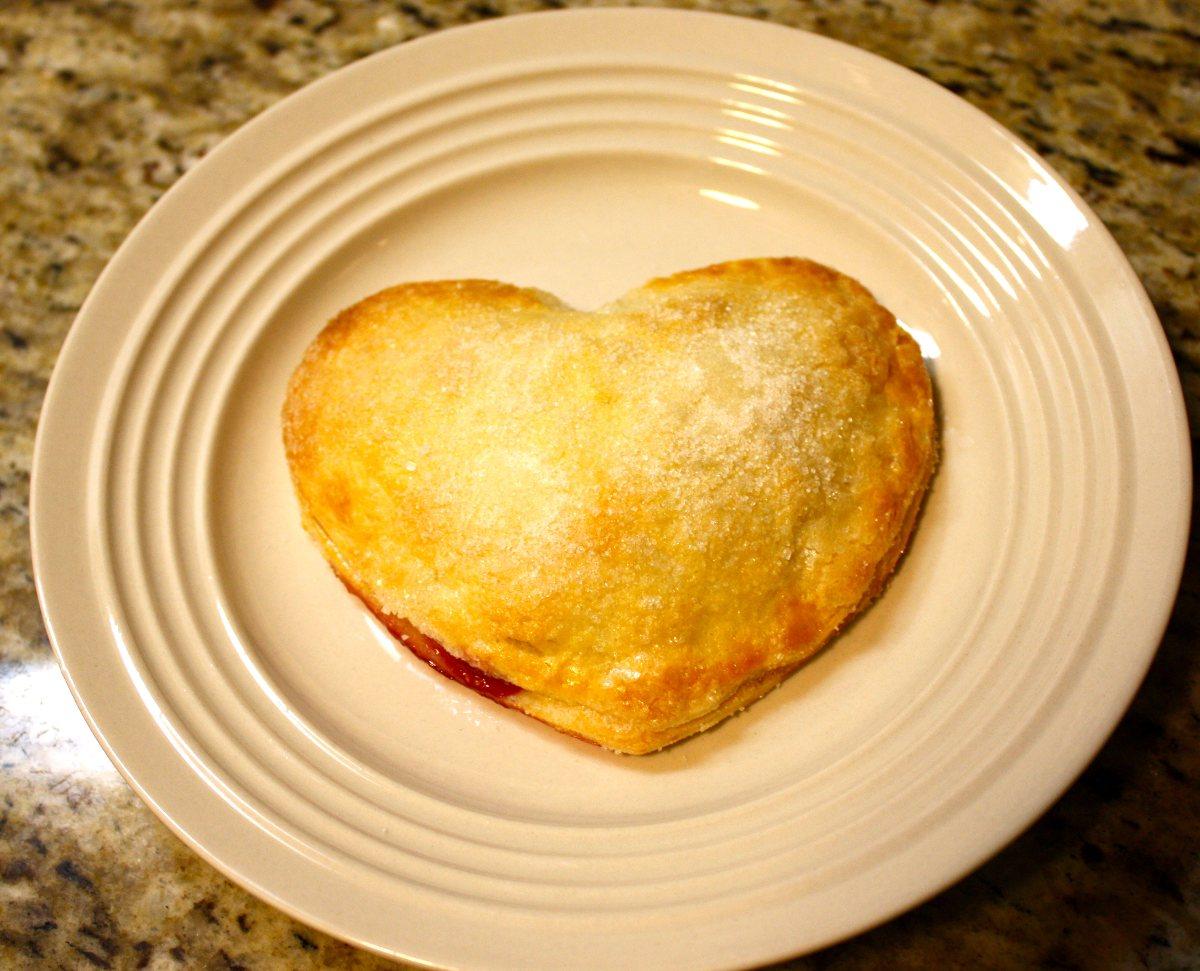 Pear-Raspberry Heart Pies - BigOven