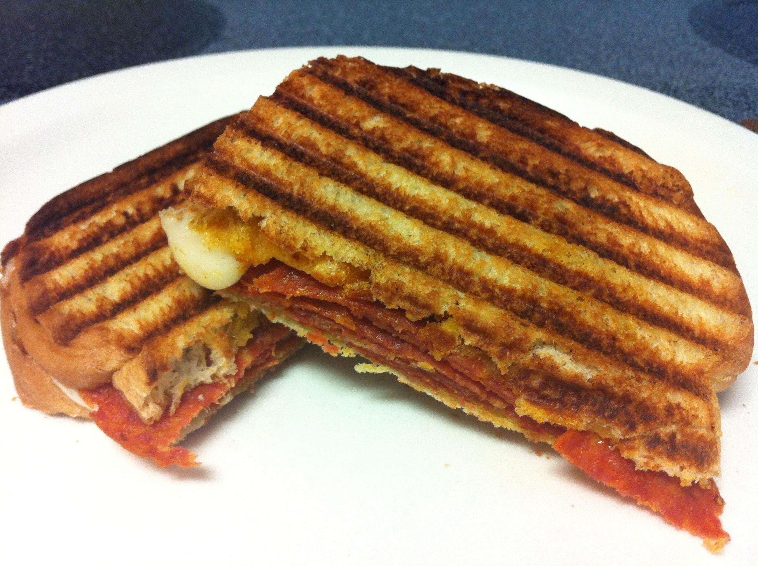 Pepperoni Panini Sandwich - BigOven
