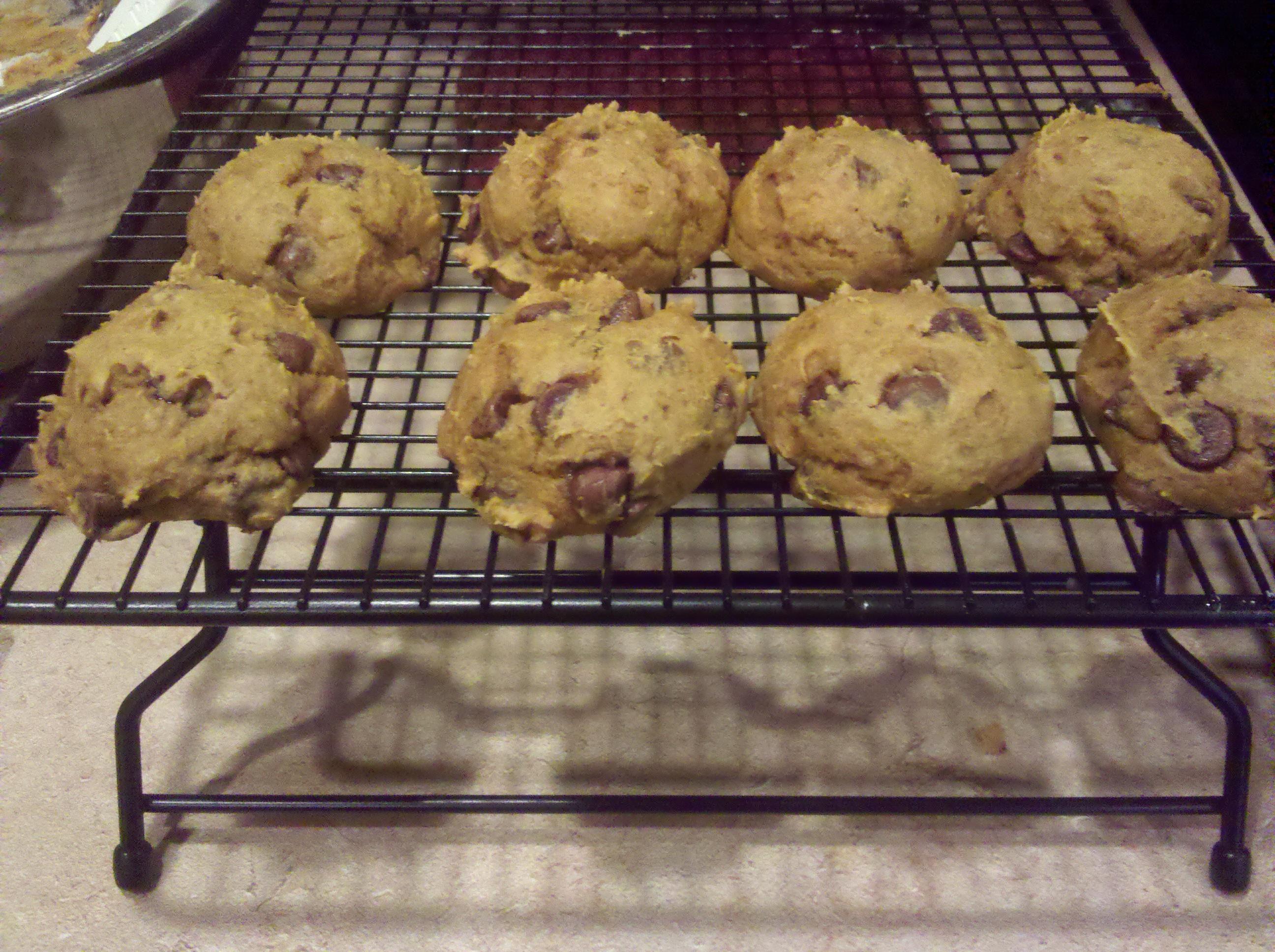 Chocolate Cake Mix And Pumpkin Puree Cookies