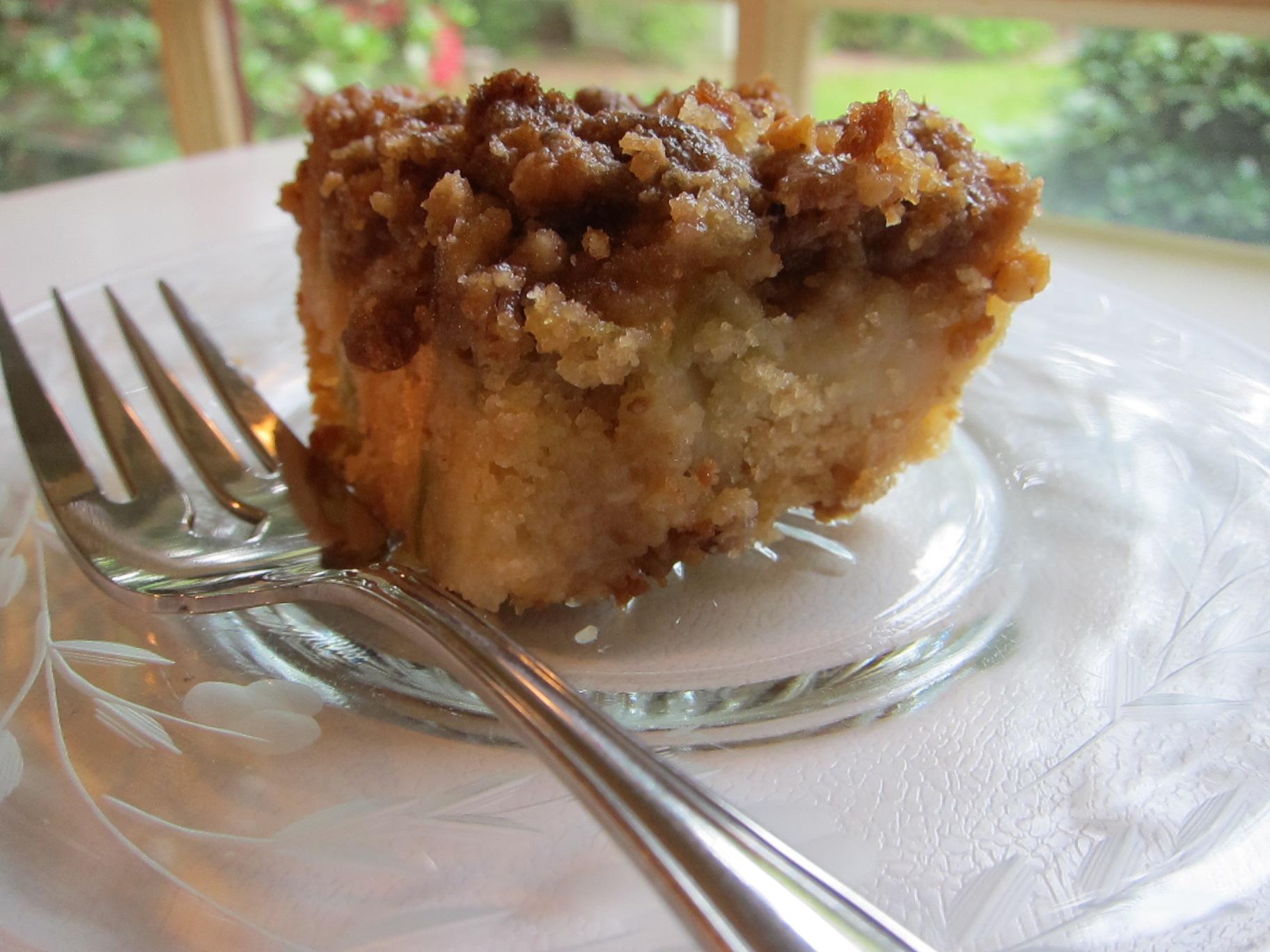 Rhubarb Coffee Cake Recipe Buttermilk