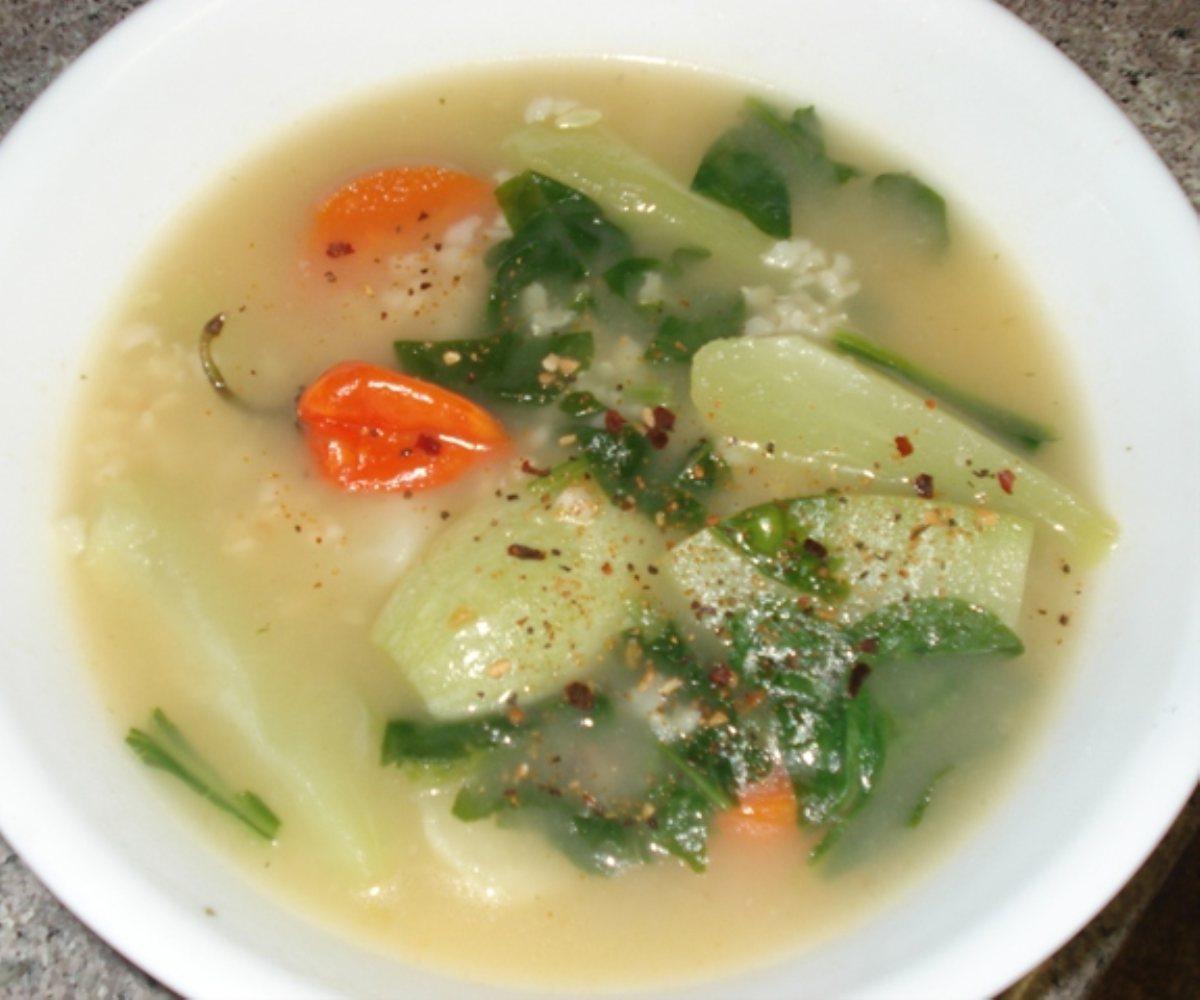 Roasted Chicken Habanero Soup - BigOven