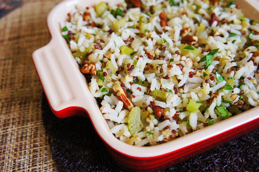 Royal Pecan Rice Stuffing