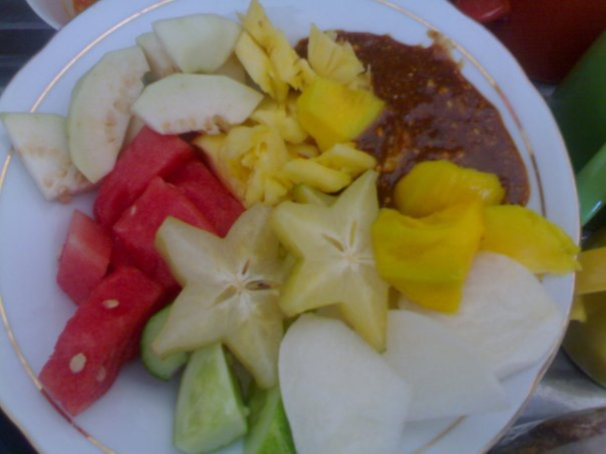 Rujak Hot, Spicy Fruit Salad - Bigoven-5213