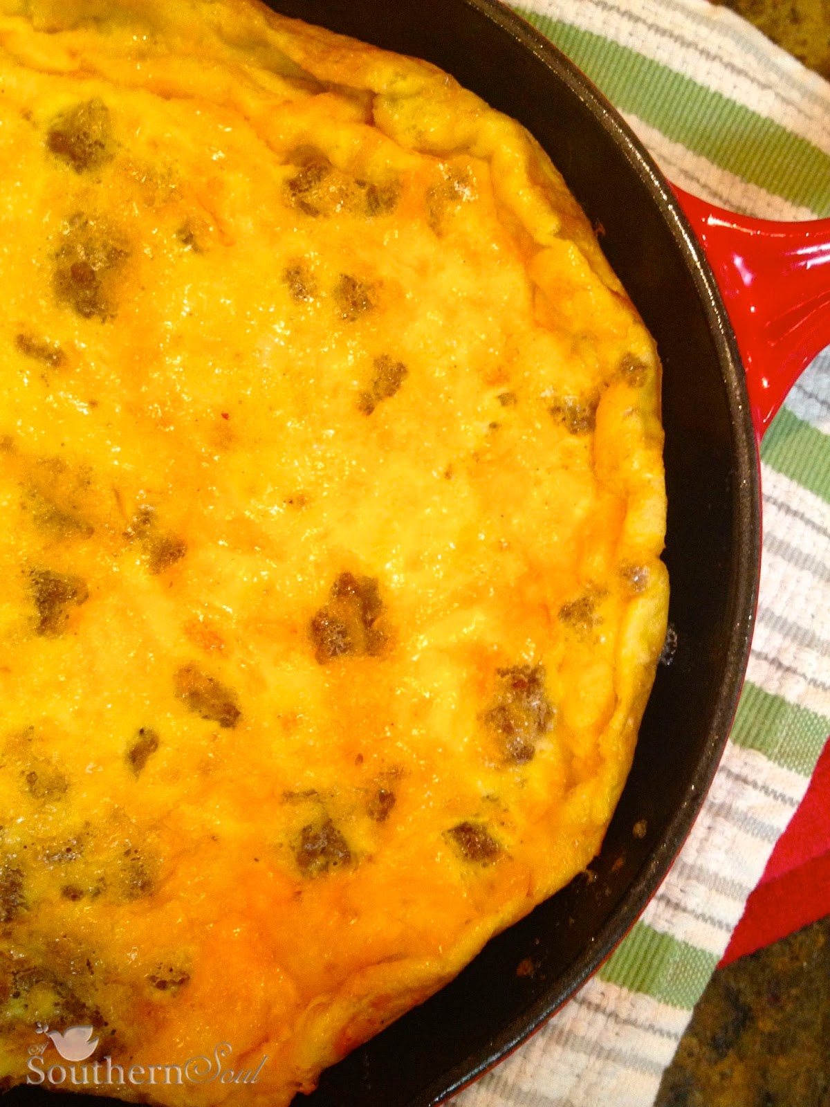 Sausage and Cheese Frittata - BigOven