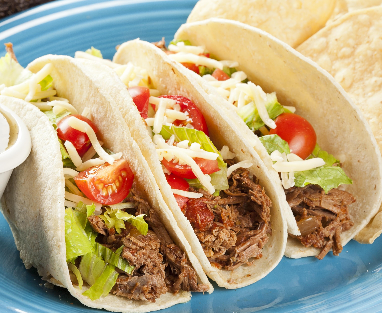 Shredded Beef Tacos, Crockpot Style - BigOven
