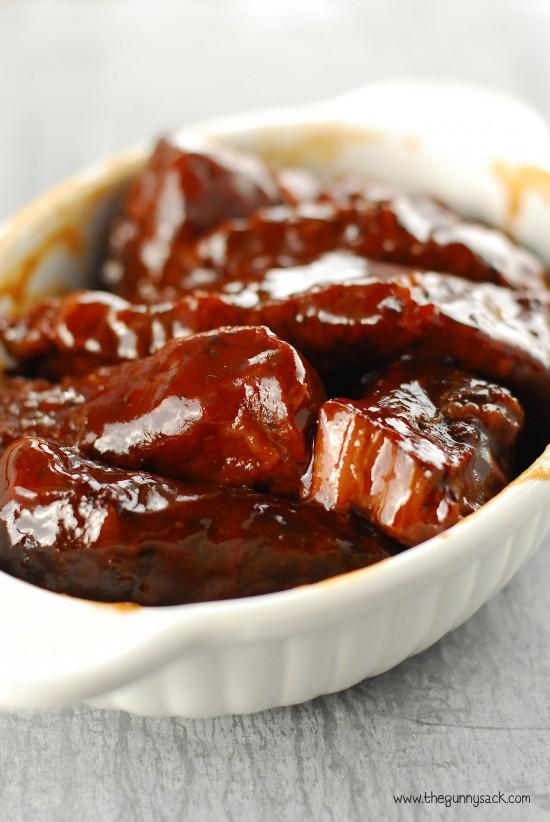 Slow Cooker Barbecue Ribs Recipe - BigOven