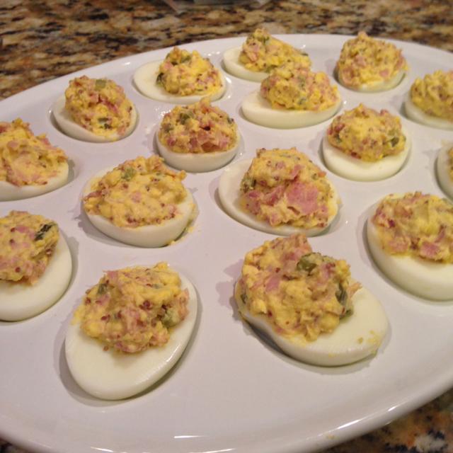 Smokey Deviled Eggs Recipe — Dishmaps