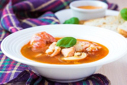 Smoky tomato and seafood soup - BigOven