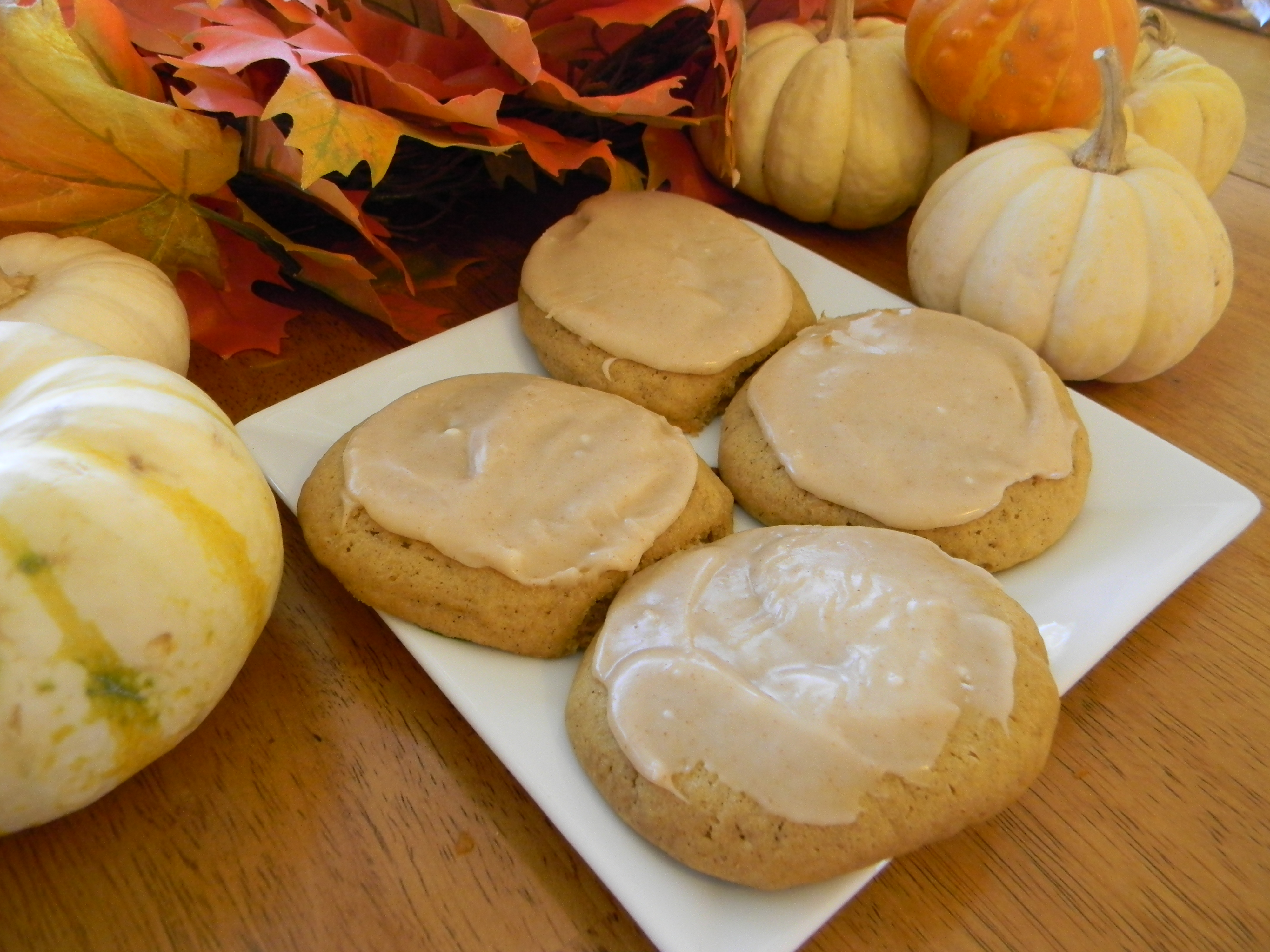 Soft Ginger-Pumpkin Cookies with Browned Butter Frosting ...