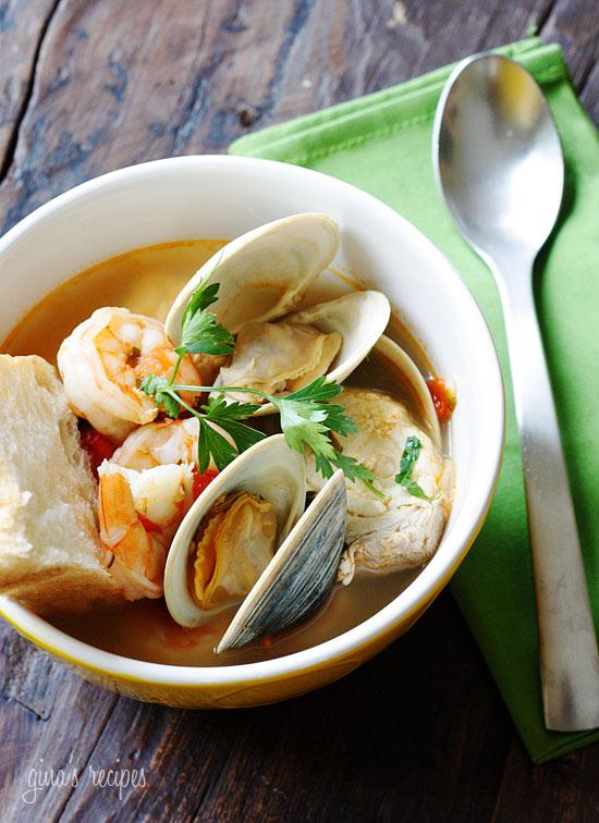 Halibut & Shelfish Soup