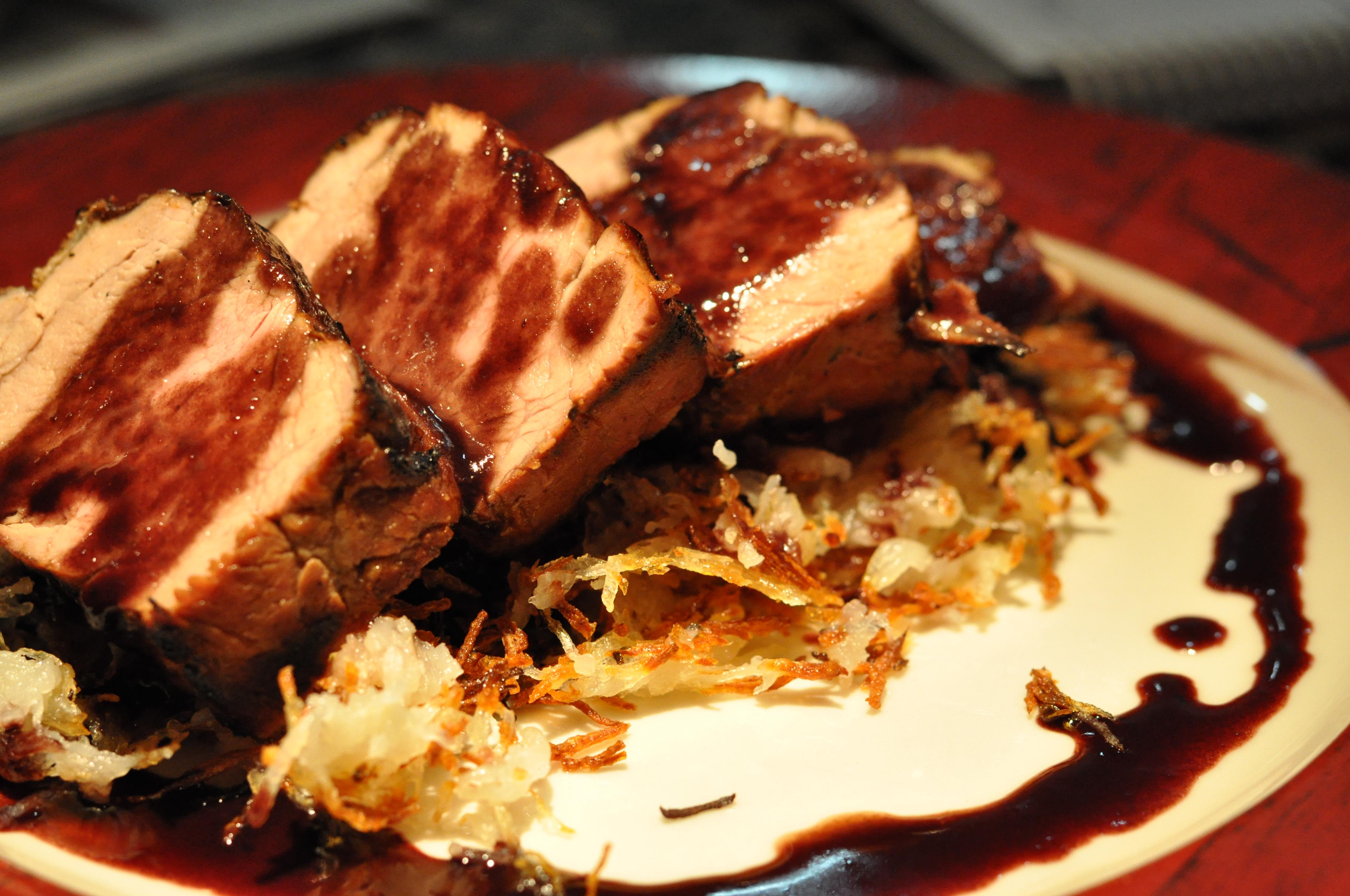 how to cook marinated pork tenderloin