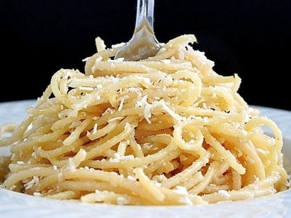 Spaghetti with Browned Butter and Mizithra Cheese - BigOven