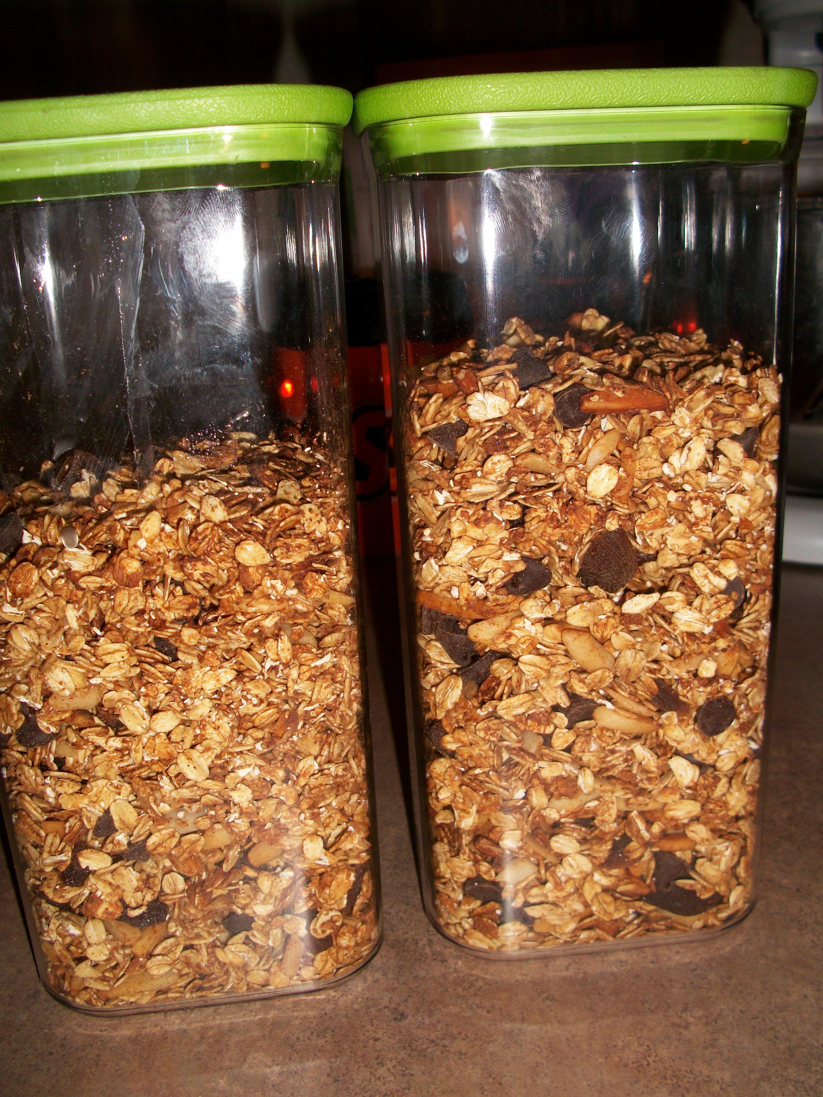 Spicy Granola (no oil) - BigOven