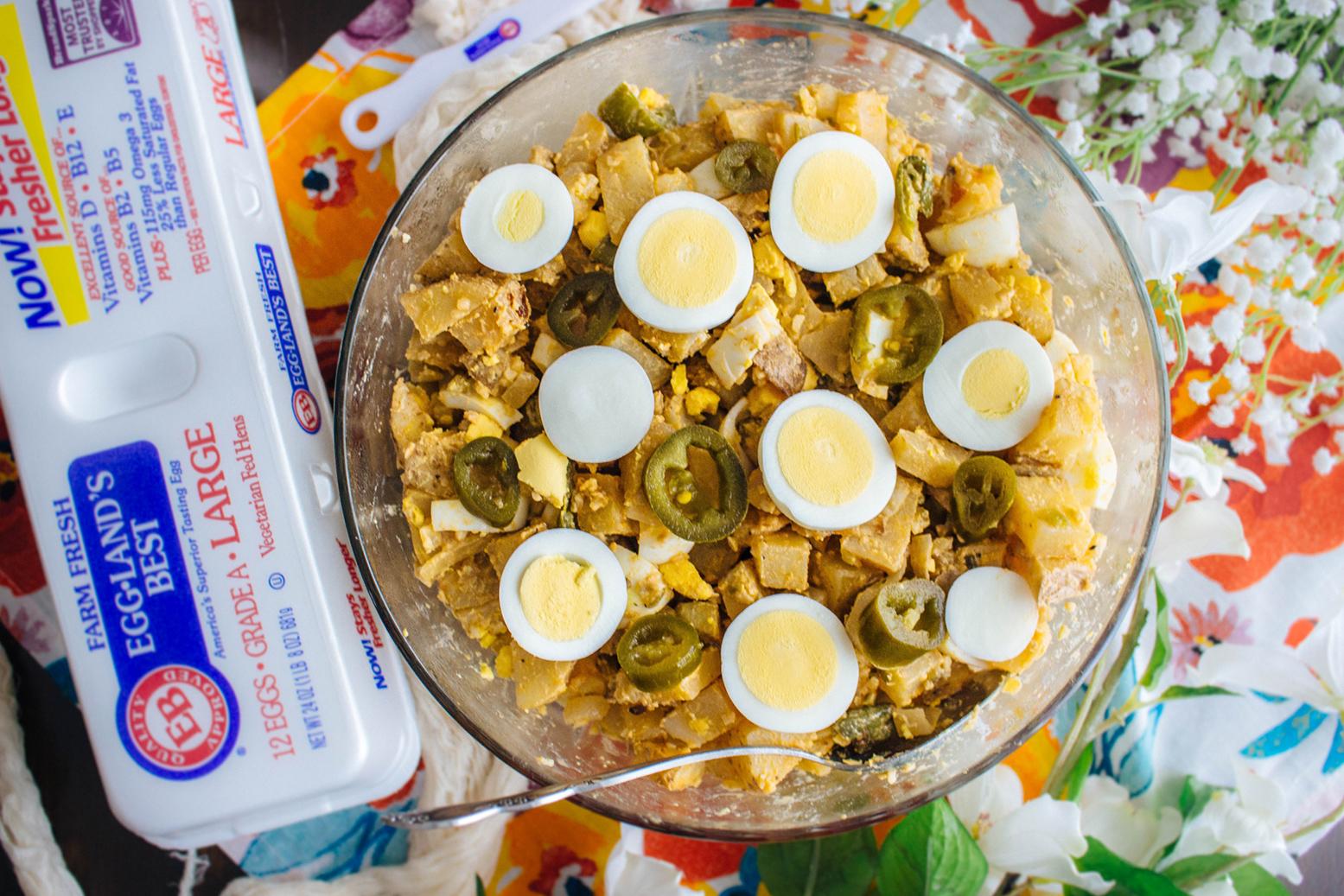 Spicy Roasted Potato Salad