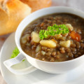 Dis Authentic Greek Lentil Soup (low Cal, Low Fat)