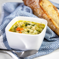 Lemony Chicken and Rice Soup